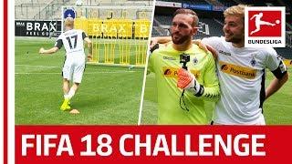 Gladbach Turn to World Champ Kramer - EA Sports FIFA 18 Bundesliga Free Kick Challenge thumbnail