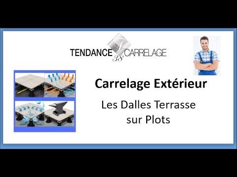Tendance Carrelage 38 Carrelage Extérieur Sur Plot Youtube