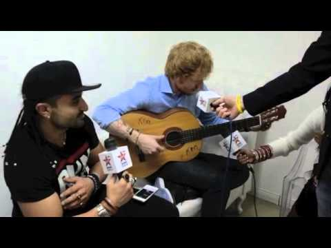 Ed Sheeran Nandos Song with The Kris Fade Show