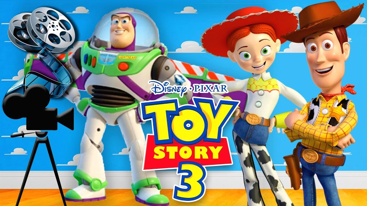 Disney Pixar Toy Story 3 Full Movie Game For Kids In