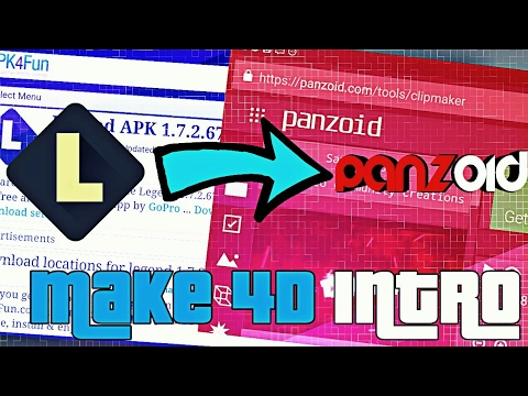 How to Make A 3D , 4D Best Intro with your Android 📱 | Panzoid | 🔺
