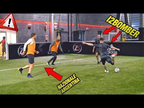 I2Bomber VS Nazionale ARGENTINA - Partita Calcio A 5 ⚽🏆