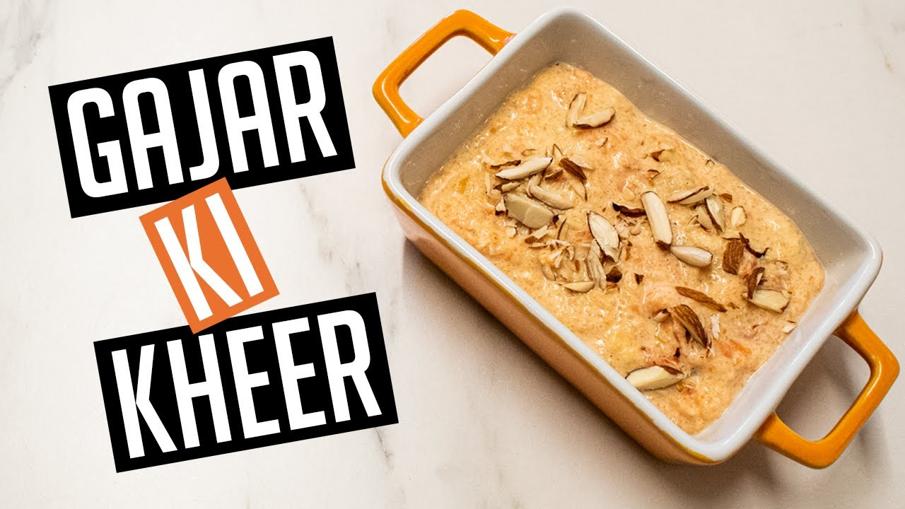 Gajar Ki Kheer Recipe | Carrot Pudding | Aaj Ka Zaika | Today's Taste