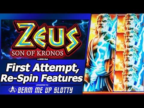 Zeus son of kronos slot machine