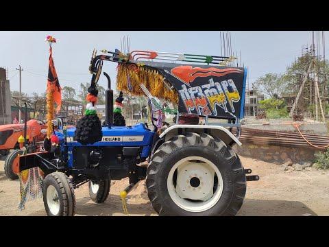 New Holland 3600-2 Tractor Modification video || uttarKarnataka || Tractor Hud and bumper fitting