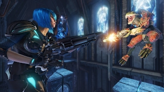 Quake Champions: 4 Minutes of Brutal Gameplay at 1080p 60fps