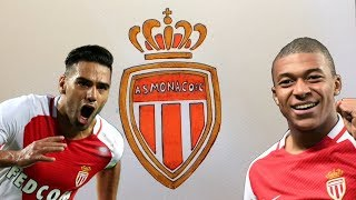 How to Draw the AS Monaco Football Club Logo with Pen