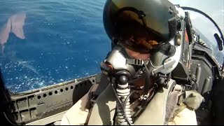 GREAT FOOTAGE F-18 Super Hornet