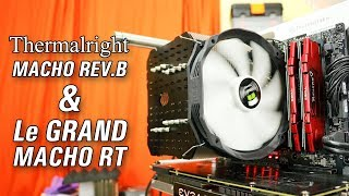 Thermalright Macho Rev.B and Le Grand Macho RT Review