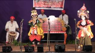 yakshagana jambhavati kalyana by students of shankar balkudru part 7