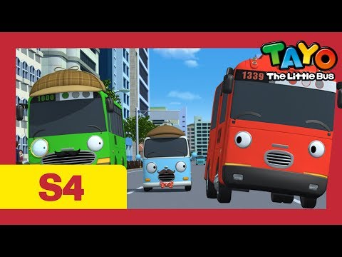 Tayo S4 #16 l The Best Detective l Tayo the Little Bus l Season 4 Episode 16