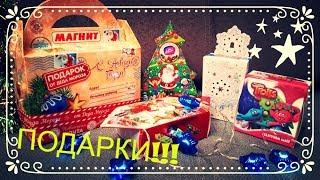видео новогодние сладкие подарки