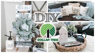 DIY Dollar Tree Farmhouse Decor | 3 PROJECTS!