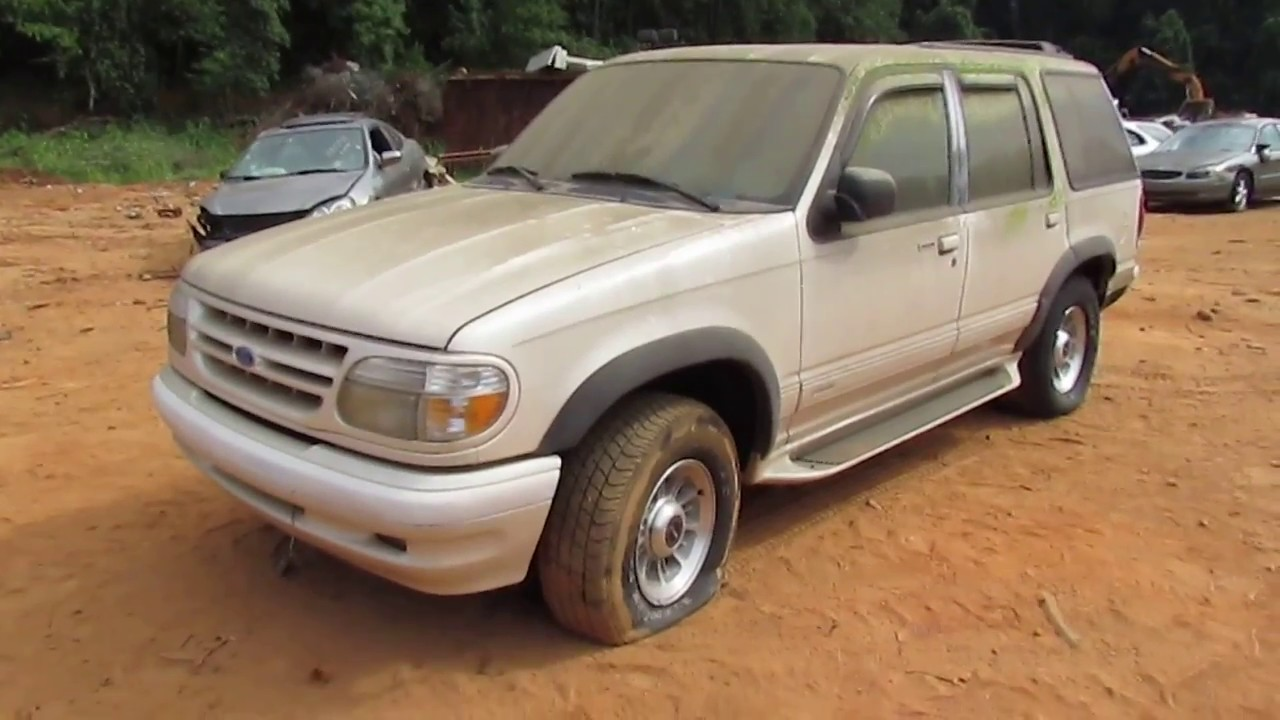 Scrapped 1997 ford explorer limited edition
