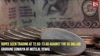Rupee seen trading at 72.50-73.60 against the US dollar: Gaurang Somaiya of Motilal Oswal