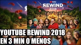 YOUTUBE REWIND 2018 EN 3 MIN O MENOS!! | Heisenwolf