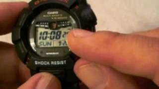 Casio G-Shock Mudman GW-9010-1 Rally Timer Watch