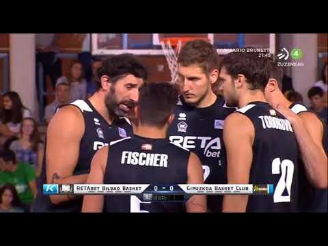 2017-09-02; Euskal kopa, finala; Bilbao Basket 83 - Gipuzkoa Basket 81 TXAPELDUNAK!