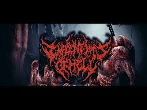 IMPLEMENTS OF HELL - CHAINSAW CATHETER [OFFICIAL LYRIC VIDEO] (2017) SW EXCLUSIVE