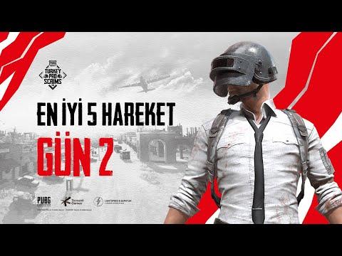 PUBG MOBILE Pro Scrims Turkey En İyi 5 Hareket | 2. Gün