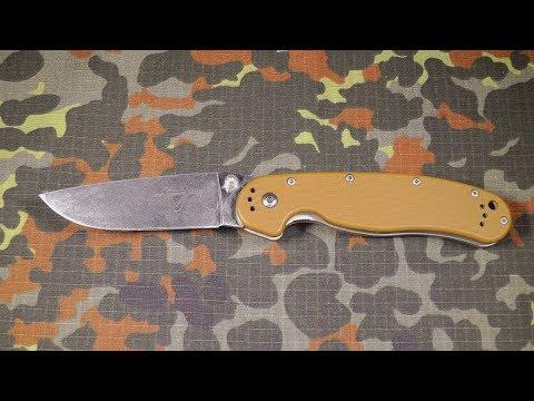 Нож Ontario Rat 1: последний взгляд