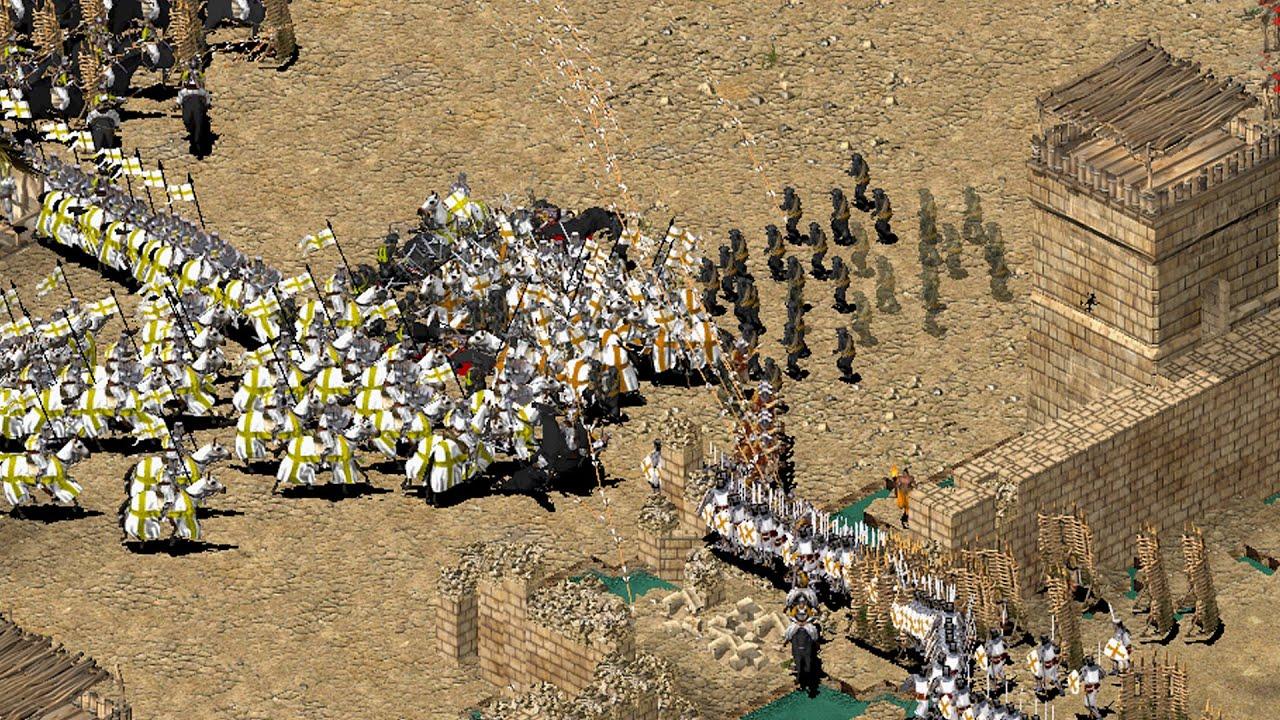 Stronghold Crusader - Ako hrat cez net?- podrobn postup