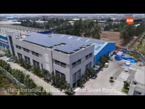 IAI Joinflex Rooftop Solar Power Plant  by Sunshot Technologies, Pune