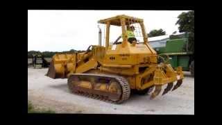 1985 Komatsu D57S track loader for sale   sold at auction July 25, 2013