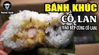 "Show you how to make ""Banh Khuc""-broke into Hanoi's most famous ""Bank khuc"" producing establishment"