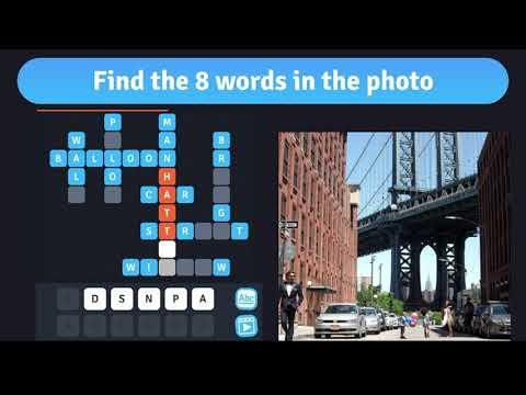 8 crosswords in a photo hack