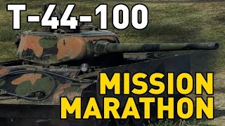 World of Tanks || T-44-100 Mission Marathon Guide