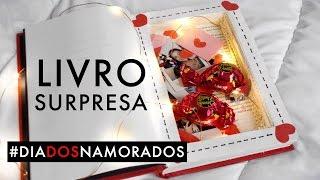 DIY: LIVRO SURPRESA | DIA DOS NAMORADOS thumbnail
