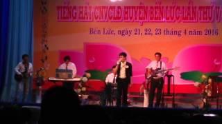 Cỏ và mưa -tiếng hát CNVC 2016- Hoài Lâm