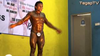 Mr Little India 2013: Loganathan Chandran (Winner Below 70kg Closed Category)