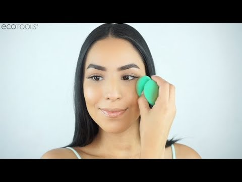 Perfecting Cushion Blender Makeup Tutorial   EcoTools