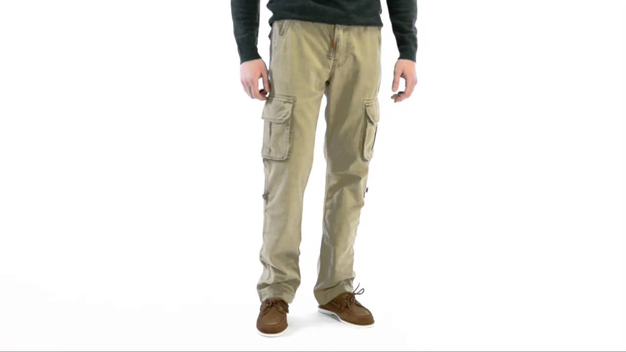 Lucky Brand Twill Cargo Pants (For Men) - YouTube