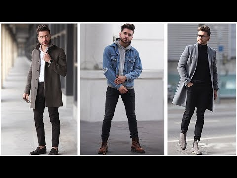 MENS FASHION INSPIRATION | WINTER LOOKBOOK 2018 | 3 Easy Outfits for Men