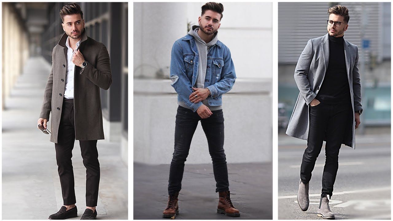 550f41cb MEN'S FASHION INSPIRATION | WINTER LOOKBOOK 2018 | 3 Easy Outfits for Men