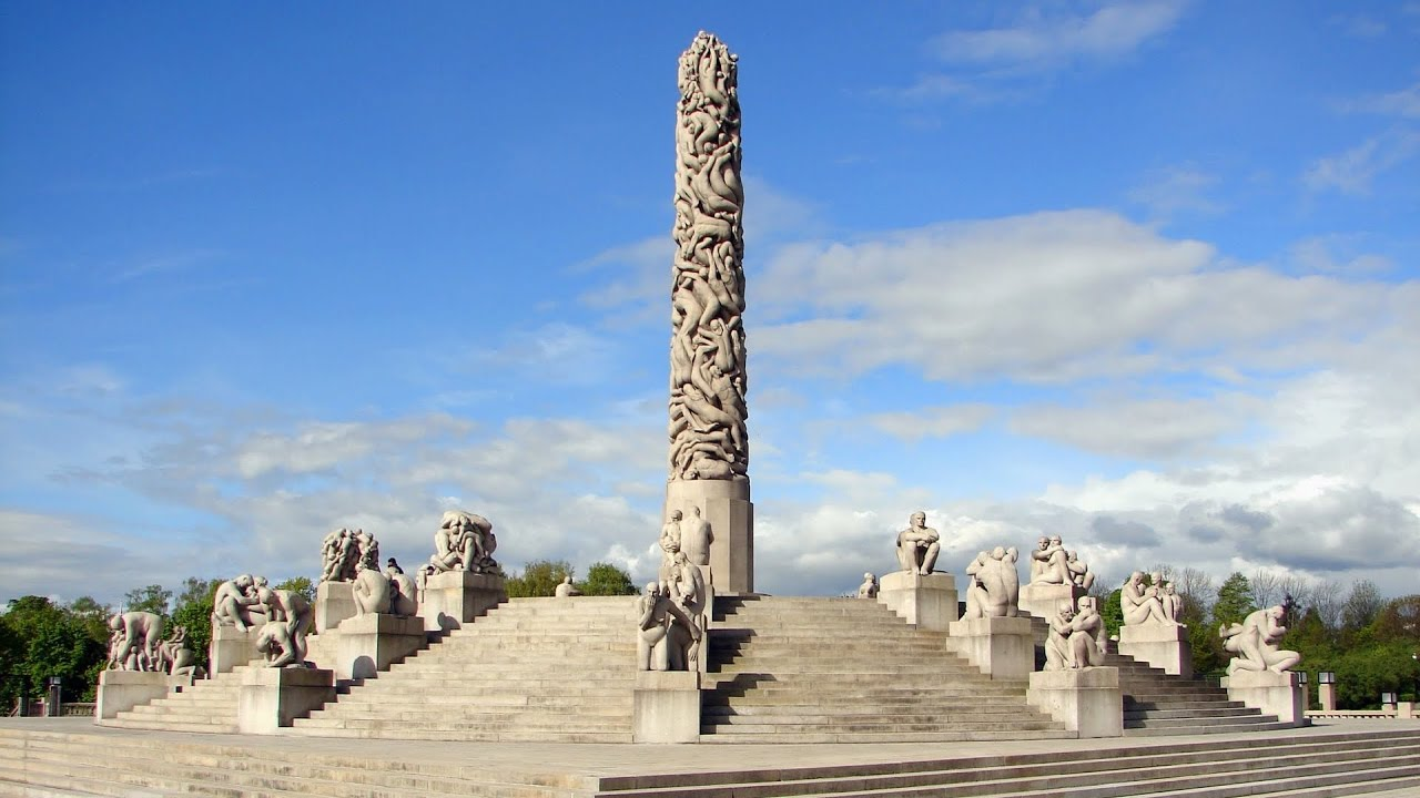Image result for vigeland park oslo