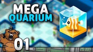 Aquário da Mocreia   Megaquarium #01 - Gameplay Português PT-BR