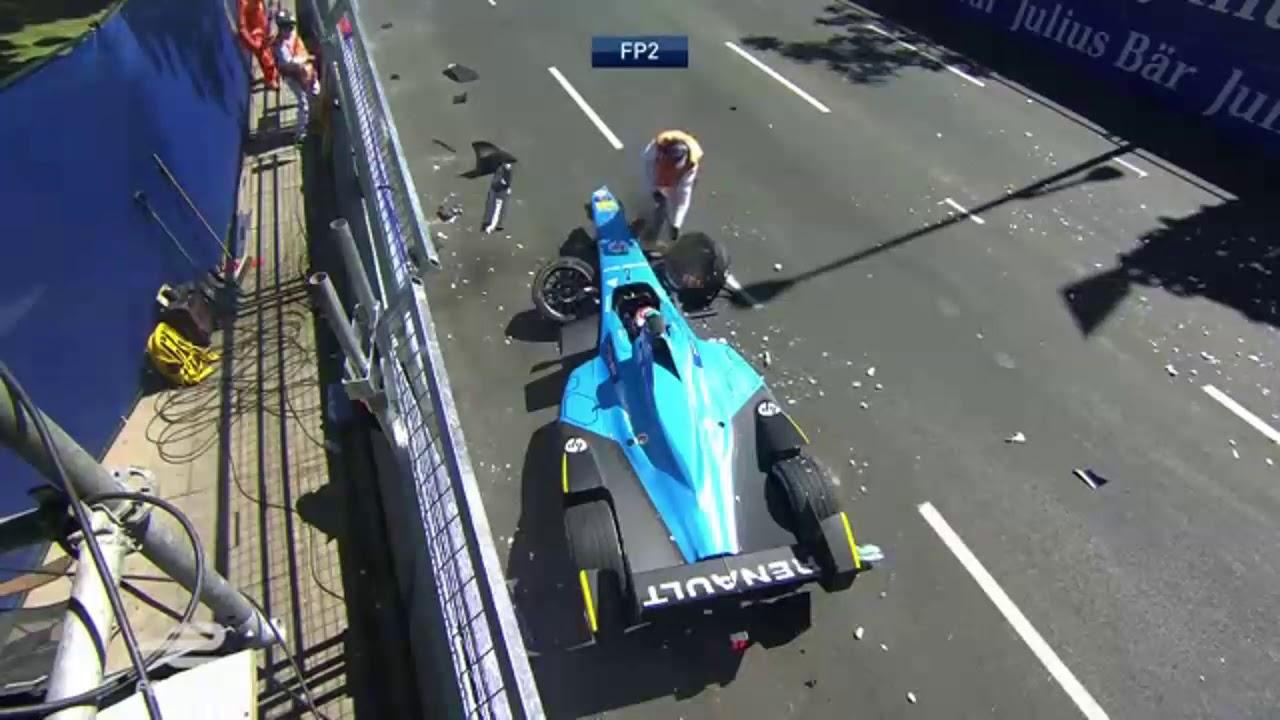 Formula E Crashes with Ed, Edd n' Eddy Sound Effects