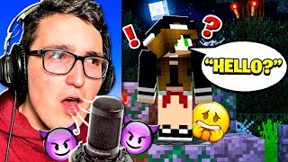 I used a VOICE CHANGER on HER and TROLLED HER! **HILARIOUS**