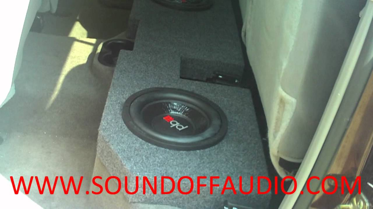 Dodge Ram Quad Cab Speaker Box 2002 To 2013 Youtube Wiring Sub Into
