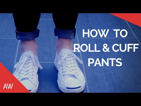 How To Cuff/Roll Pants - Men's Fashion & Style Tips - Chinos, Jeans, Joggers, Pinroll, Denim
