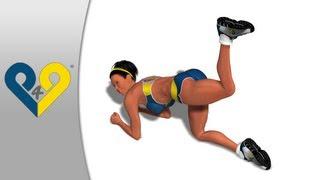 Долой целлюлит! - упражнение для ягодиц: махи ногой