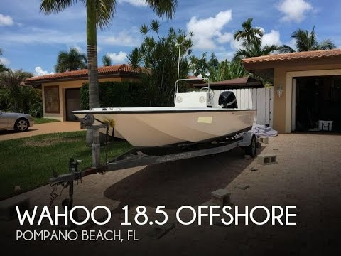 [UNAVAILABLE] Used 1988 Wahoo 18.5 Offshore in Pompano Beach, Florida