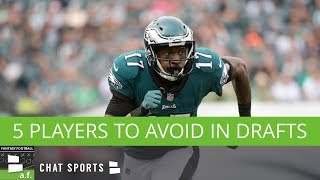 Fantasy Football Busts: 5 Players To Avoid In 2018 Fantasy Drafts
