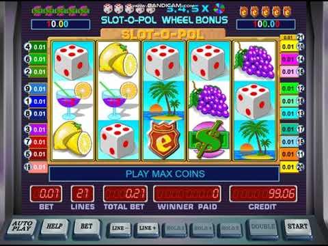 Игровой автомат Slot-o-Pol - Обзор оригинальной демо-версии