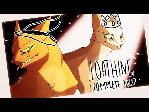 Firepaw and Sandpaw: Loathing! [COMPLETE WARRIOR MAP]