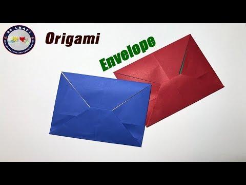 Best Origami Envelope Paper Tutorial - Easy - Creative Ideas - Origami for Kids - DIY